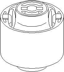 Lagring, bærebru, Bakaksel, Bak, høyre eller venstre, Høyre, Nede, Venstre
