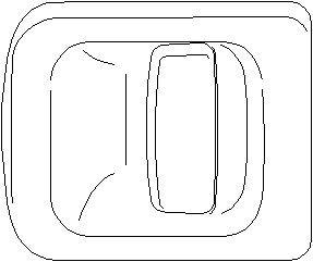 Door Handle, Front, Rear, Left front, Left rear, Left