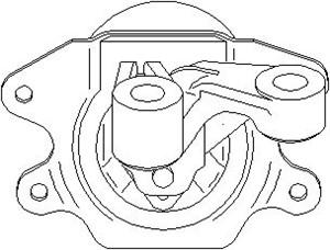 Lagring, motor, Foran venstre