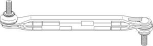 stang, stabilisator, Framaksel, Foran, høyre eller venstre, Framaksel høyre, Framaksel venstre, Høyre, Venstre