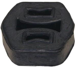 Gummioppheng, eksosanlegg
