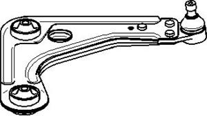 bærebru, Framaksel høyre, Høyre, Nede