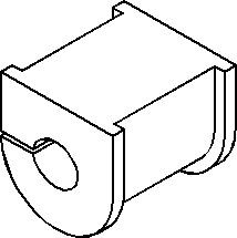 Lagring, stabilisator, Foran, høyre eller venstre