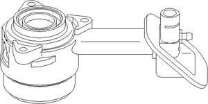 Central Slave Cylinder, clutch