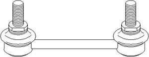 stang, stabilisator, Framaksel, Bak, høyre eller venstre, Høyre, Venstre