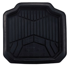 "1PC ""ADVENTURE"" REAR RUBBER MAT, Universal"