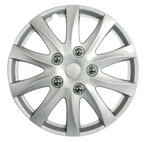 "4PCS ABS WHEEL COVER 15"" C-111 TYPE, Universal"