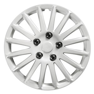 "4PCS ABS WHEEL COVER 13"" C-071 TYPE NESTED-WHITE, Universal"