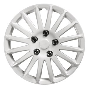 "4PCS ABS WHEEL COVER 15"" C-071 TYPE NESTED-WHITE, Universal"