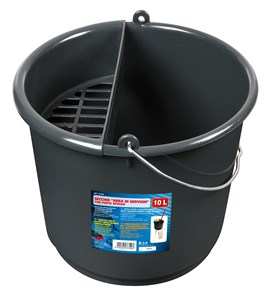 SERVICE BUCKET WITH SPONGE TRAY 10L, Universal