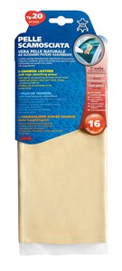 NATURAL CHAMOIS LEATHER 33X48 -20-, Universal