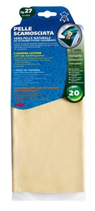 NATURAL CHAMOISE LEATHER 37X55 -27-, Universal