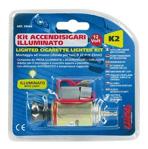 Cigarettändare, kit, Universal