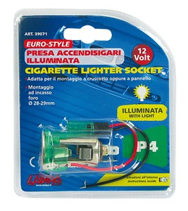 Cigarettändaruttag, Universal