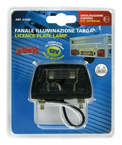 LICENSE PLATE LAMP, Universal