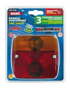 """BASIC"" TAIL LIGHT 3 FUNCTIONS, Universal"