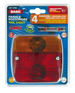 """BASIC"" TAIL LIGHT 4 FUNCTIONS, Universal"