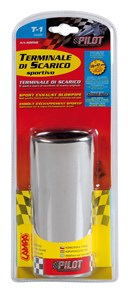 EXHAUST-PIPE ENDING OVAL 47 MM, Universal