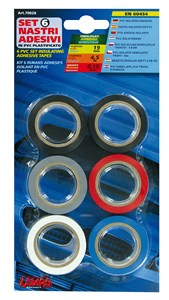 Bildel: 6 PCS IMQ INSULATING TAPES, Universal