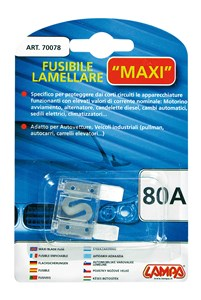 MAXI BLADE FUSE 80A, Universal