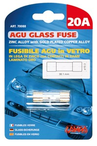 Bildel: AGU GLASS FUSE 20AMP., Universal