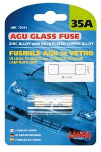 AGU GLASS FUSE 35AMP., Universal