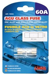 AGU GLASS FUSE 60AMP., Universal
