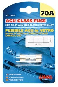 AGU GLASS FUSE 70AMP., Universal