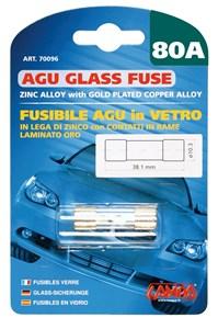 AGU GLASS FUSE 80AMP., Universal