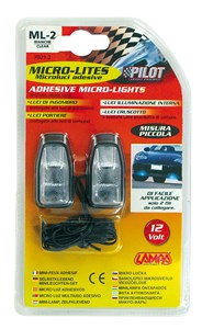 CLEAR MICRO-LIGHTS, SMALL SIZE, Universal
