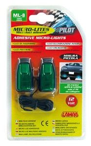 GREEN MICRO-LIGHTS, SMALL SIZE, Universal