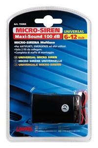UNIVERSAL MICRO SIREN 6/12V., Universal