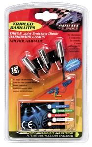 LED-ljus, instrumentbräda, Universal