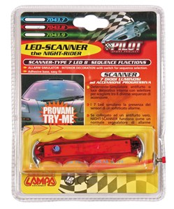 LED-SCANNER RED, Universal
