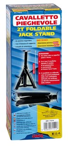 FOLDABLE JACK STAND, 2 T. GS-TUV, Universal