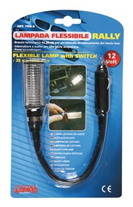 """RALLY"" 12 V. FLEXIBLE LAMP, Universal"