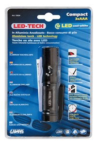 Taskulamppu, LED, Universal