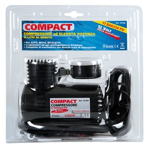 """COMPACT"" AIR INFLATOR 12V., Universal"