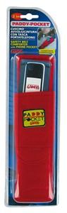 RED BELT CUSHION W/PHONE HOLDER, Universal