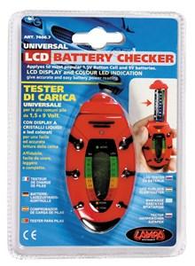 Bildel: Batteritestare, Universal