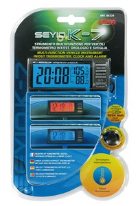 """SEYIO K-7"" MULTI-FUNCTION VEHICLE INSTRUMENT, Universal"