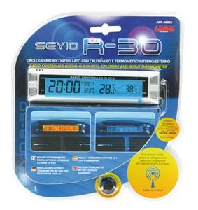 """SEYIO R-30"" DIGITAL CLOCK(RCC)+CALENDAR+THERMO., Universal"