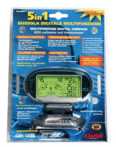 MULTIPURPOSE DIGITAL COMPASS, Universal