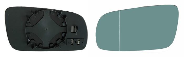 Strålande Spegelglas, yttre spegel, Vänster - VW,SKODA,SEAT - OE 1J1857521C IC-79