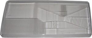Strålkastarglas, Vänster