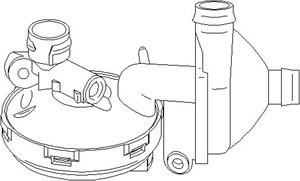 Filter, vevhusventilation, Cylindrisk skalle