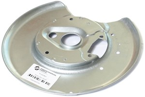 Brake Backing Plate, Left rear