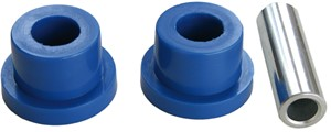 Bushing kit, link arm, polyurethane, Front axle