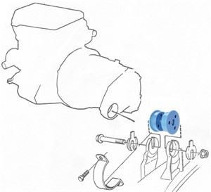 Engine mount, Polyurethane