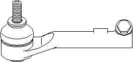Styreledd (ytre), Framaksel venstre